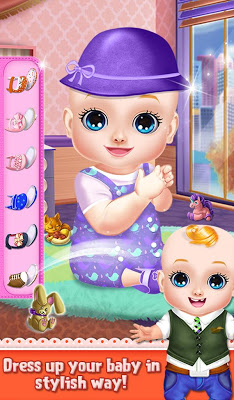 Sweet Baby Girls Super Mom - screenshot