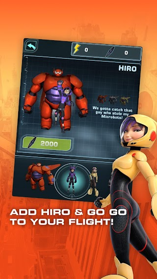Big Hero 6: Baymax Blast - screenshot