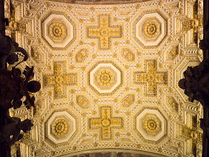 Photo: Side aisle barrel vault in St. Peters