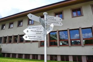 Photo: Gebäude der landwirtschaftlichen Schule Ebenrain