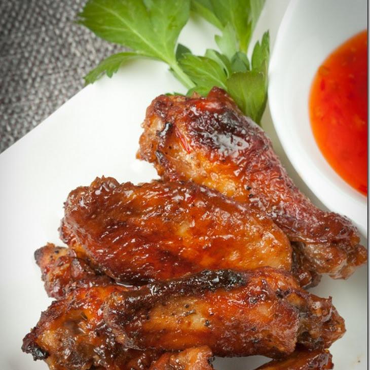 Easy Garlic Chicken Wings