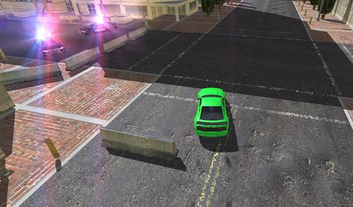 Hot Money Police Pursuit
