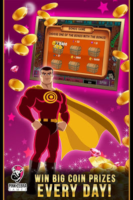 SuperHero Slots - screenshot
