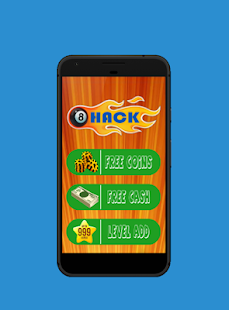 Get Free coins, cash & levels for 8ball pool Prank - náhled