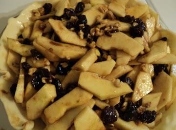 Thanksgiving Harvest Cranberry Apple Pie Recipe