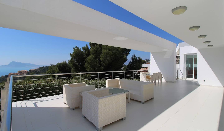 Villa avec piscine et jardin Altea