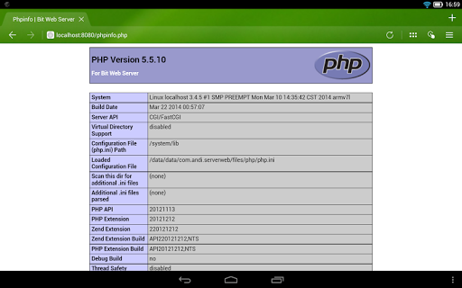 Bit Web Server (PHP,MySQL,PMA) Apk | Download Only APK ...