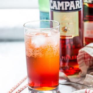 The Americano Cocktail.