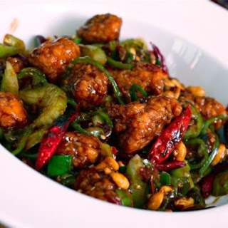Kung Pao Popeye (Kung Pao Chicken Made with Popeye's Nuggets).