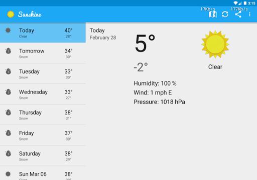 免費下載天氣APP|Sunshine Weather App app開箱文|APP開箱王