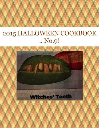 2015 HALLOWEEN  COOKBOOK .. No.9!