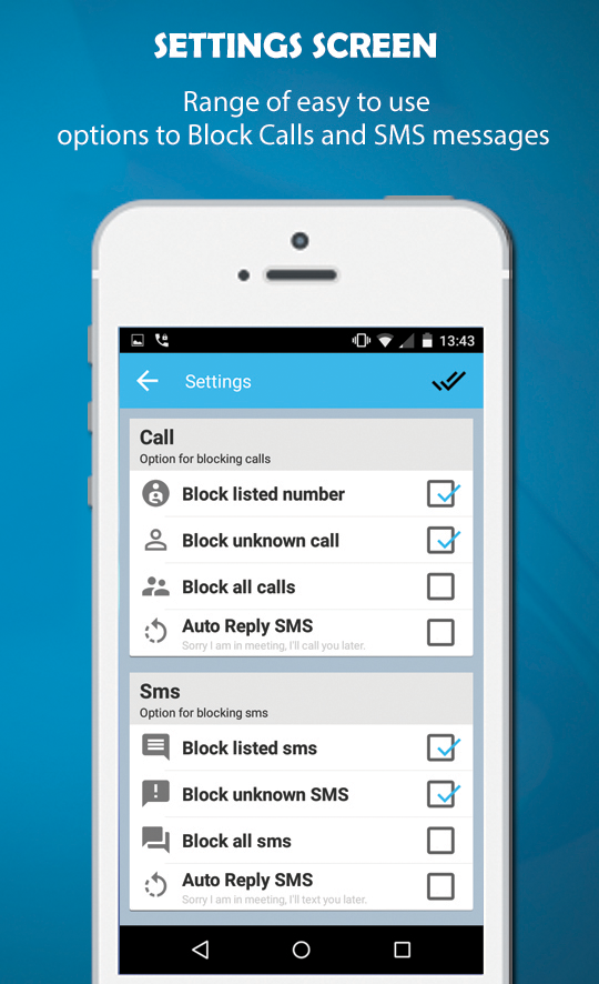 CPR Call Blocker- screenshot