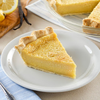 Lemon Vanilla Buttermilk PIe