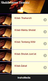 Hadits Sohih At Tirmidzi Full screenshot
