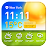 Free Weather and clock widget Icône