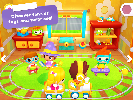 Happy Daycare Stories - School playhouse baby care - screenshot