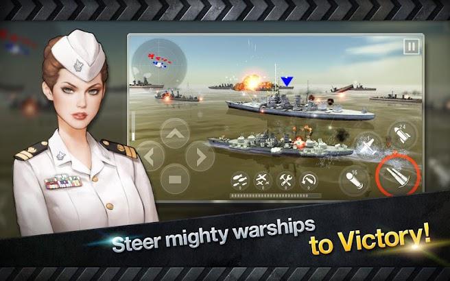 WARSHIP BATTLE:3D World War II screenshot
