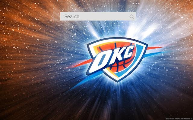 Oklahoma City Thunder New tab