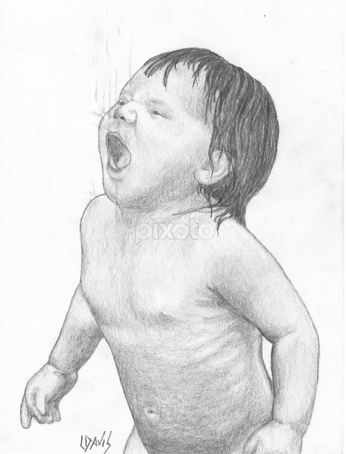 Catching The Rain All Drawing Drawing Pixoto