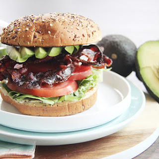 Avocado BLT Sandwich #SundaySupper.