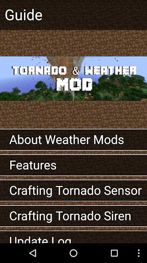Tornado Mod for Minecraft Pro