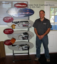 Photo: The LiftMaster Display. We love LiftMaster. We have installed thousands of LiftMaster operators over the last 8 years. Great products with great warranties. Call us today at 512-335-7441.