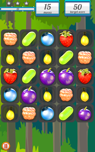 Berry Crush -3 match puzzle-