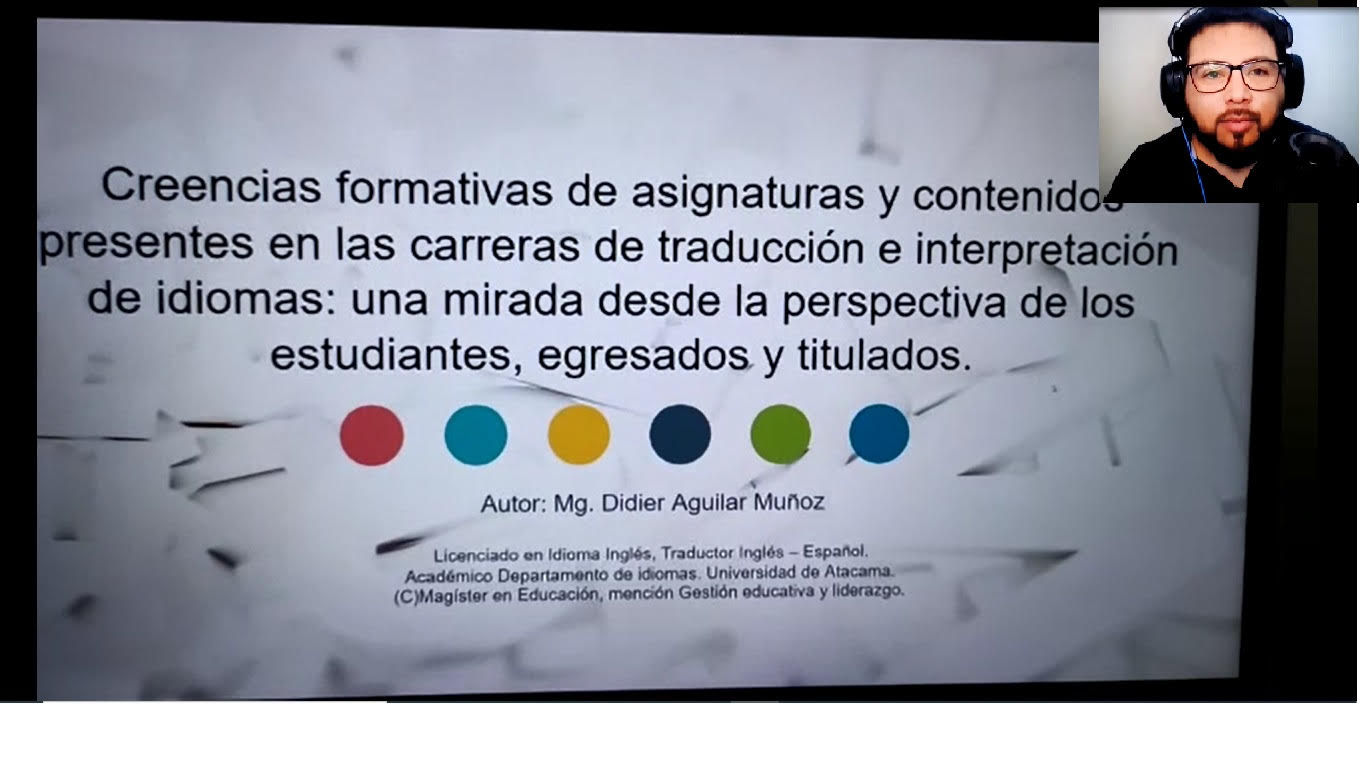 Participación en las IX Jornadas Nacionales de Enseñanza de la Traducción e Interpretación 2021