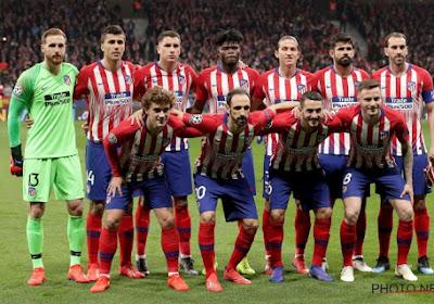 Atlético Madrid laat dure punten liggen in de Spaanse competitie