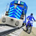 Bike vs. Train – Top Speed Train Race Challenge icon