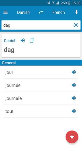 Danish-French Dictionary