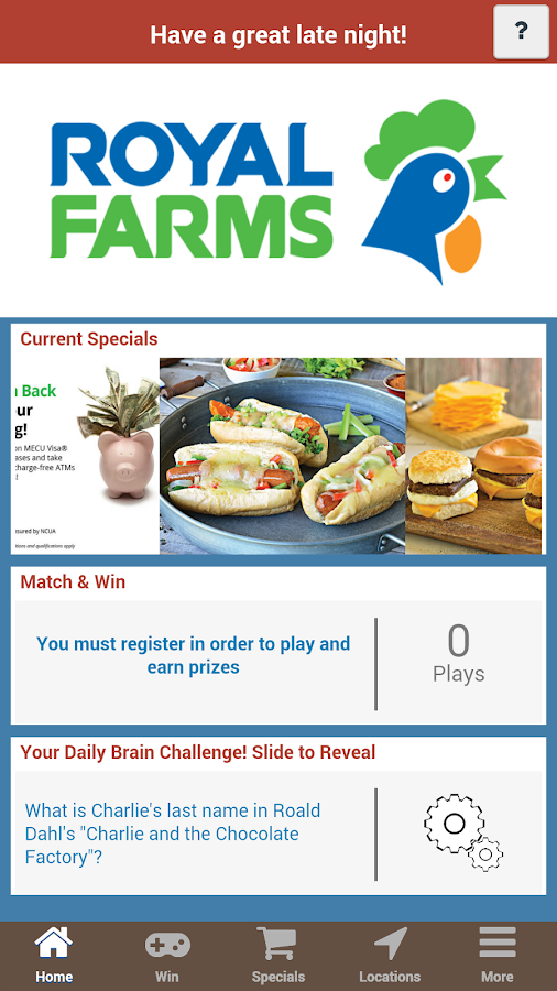 Royal Farms- screenshot