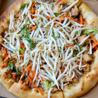 CopyCat CPK Thai Chicken Pizza Recipe
