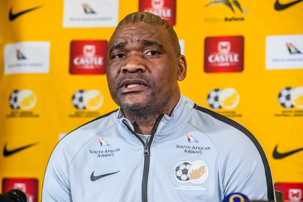 Coach Molefi Ntseki finally signs Bafana contract