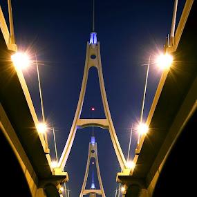 Business Bay Bridge in Dubai by Elisa Abiog - Buildings & Architecture Bridges & Suspended Structures