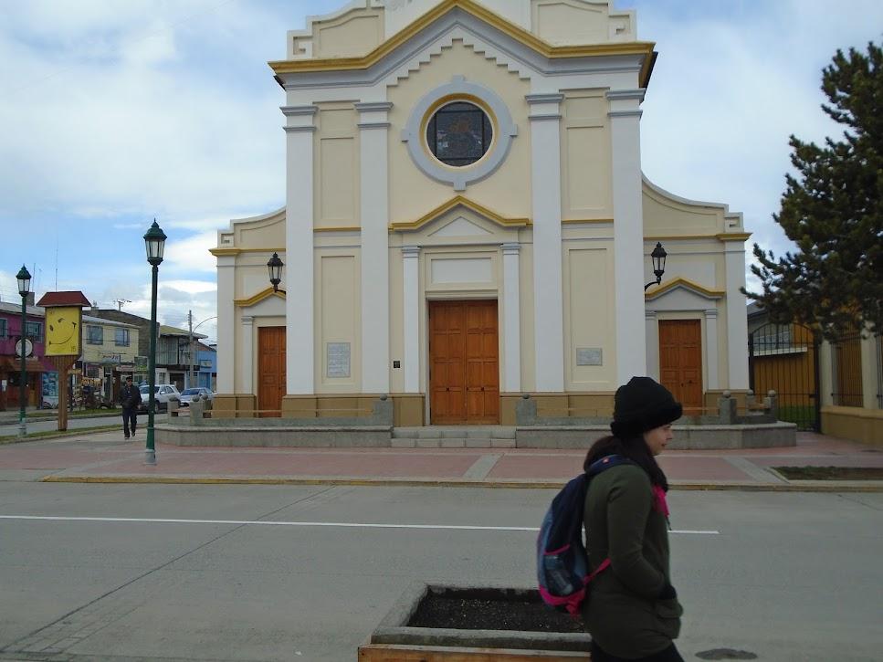 Igreja matriz na cidade