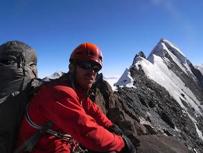 Photo: The long north ridge of Ren Zhong Feng