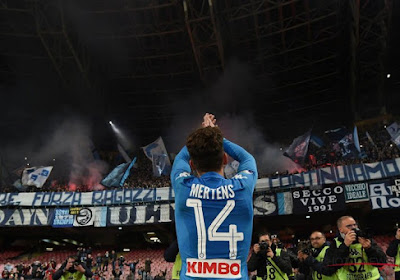 """Dries Mertens est une grande star en Italie"""