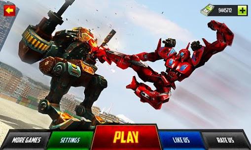 Robot Car War Transform Fight 1