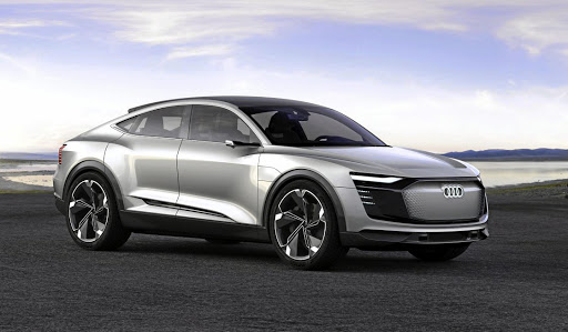 Audi will put the E-tron Sportback concept into production in 2019. Picture: NEWSPRESS UK