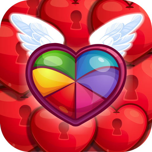 Sweet Hearts - Cute Candy Match 3 Puzzle (game)