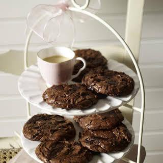 Double Chocolate Chunk Cookie.