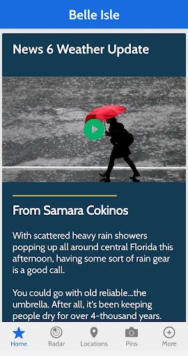 News 6 Pinpoint Weather screenshot 4