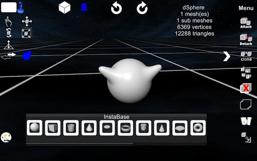 d3D Sculptor - 3D modeling Apk apps 1
