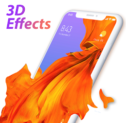 U Launcher Lite-3D Launcher, Hide apps,Free themes APK screenshot thumbnail 1