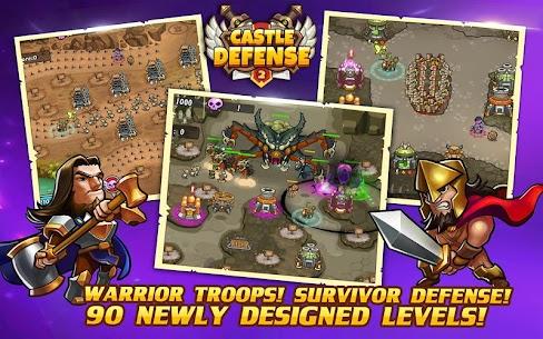 Castle Defense 2 MOD Apk 3.2.2(Unlimited Money) 2