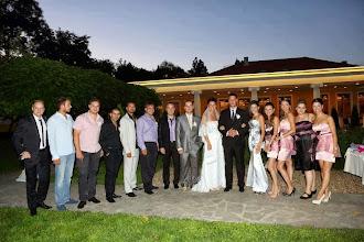 Photo: Хубаво е с много приятели - ресторант Вила Марциана - сватбата на Деси и Иван - 01.09.2012