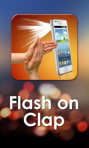 Flashlight on Clap 5.1 screenshots 1