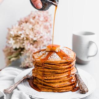 Pumpkin Soufflé Pancakes.