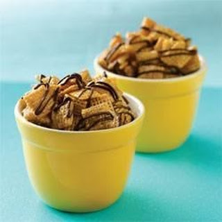 Chex® Caramel-Chocolate Drizzles